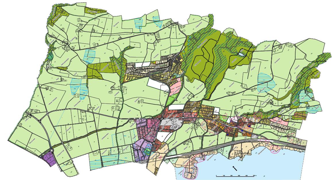 Zonenplan von Schenkon